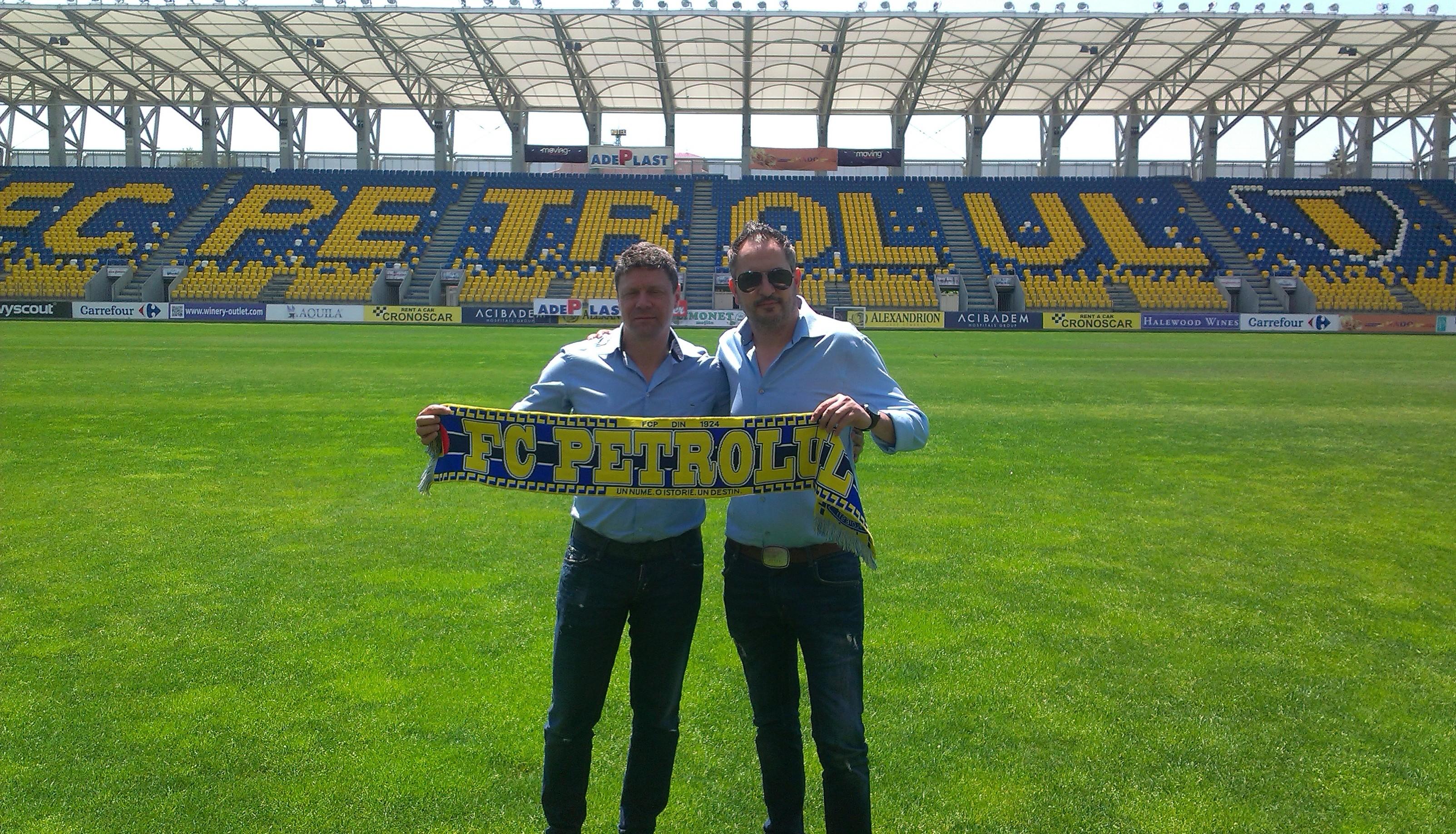 Petrolul Ploiesti are un nou antrenor si manager sportiv