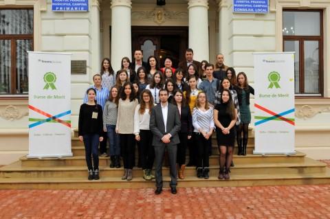 Burse de Merit pentru cei mai buni elevi din Campina