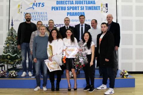 """Judoka Andreea Chitu, desemnata """"Sportivul anului"""" de DJTS Prahova!"""
