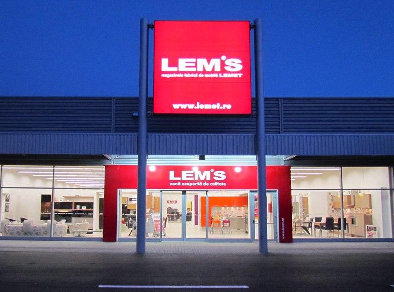 Lemet a deschis un magazin nou intr-un mall din Bucuresti