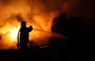 Incendiu de amploare in Maneciu