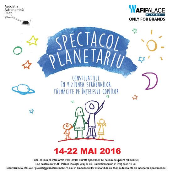 Singurul Planetariu mobil din Romania ajunge in Ploiesti
