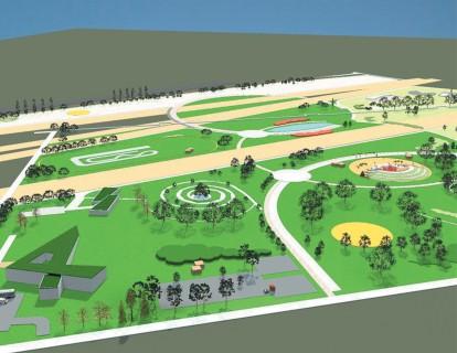 Se inaugureaza Parcul Municipal Ploiesti Vest