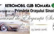 Masina de peste 100 de ani la Concursul de Eleganta Sinaia!