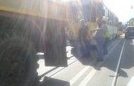 Tramvai defect in centrul Ploiestiului; circulatie ingreunata