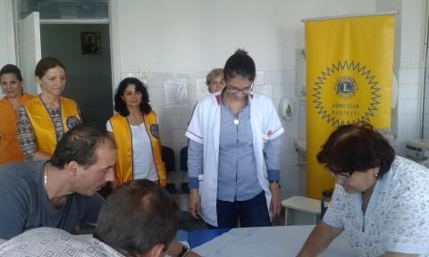 Lions Club Ploiesti, donatie pentru sectia de Diabet a Spitalului Judetean