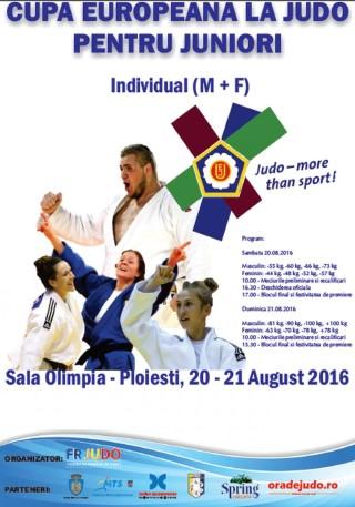 Ploiestiul gazduieste Cupa Europeana la Judo pentru juniori