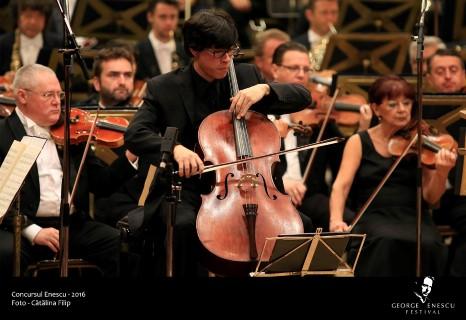 Zlatomir Fung este castigatorul Concursului Enescu 2016 la Sectiunea Violoncel, dupa o Finala cu ovatii,
