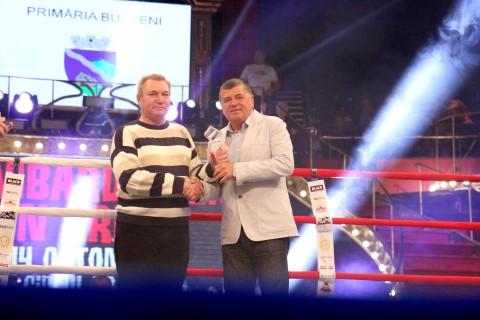 Foste glorii ale boxului, premiate de Emanoil Savin