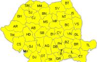 Vine zapada: Cod galben de iarna in toata tara!