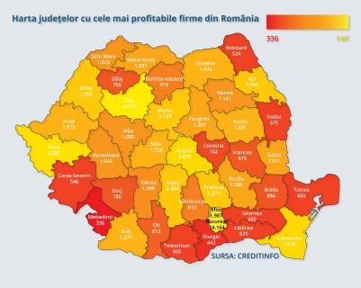 Judetul Prahova, in Top 10 pe tara dupa numarul de firme considerate de incredere