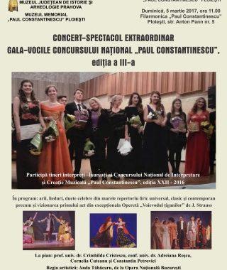 """Gala -Vocile Concursului National """"Paul Constantinescu"""""""