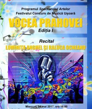 Concurs national pentru copii si tineri: Vocea Prahovei, editia I
