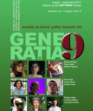 Expozitie de pictura, grafica, fotografie si film – GENERATIA 9