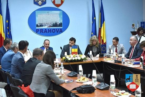 Vizita de lucru a unei delegatii cehe in Prahova