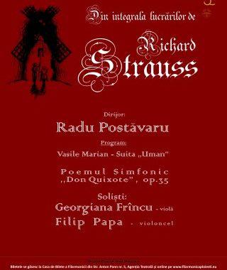 Concert pe muzica de Strauss la Filarmonica Ploiesti