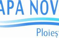 Anunt Apa Nova Ploiesti, privind intreruperea alimentarii cu apa potabila vineri, 16 noiembrie 2018
