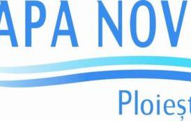 Apa Nova Ploiesti, intrerupere in furnizarea apei potabile – 17 august 2018