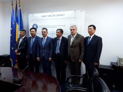 Seful CCI Prahova, intalniri cu doi ministri si o delegatie din China