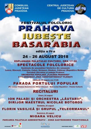 """Festivalul """"Prahova iubeste Basarbia"""", din nou la Ploiesti"""