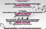 Sezon estival: Concerte estivale ale Filarmonicii Ploiesti in centrul orasului!