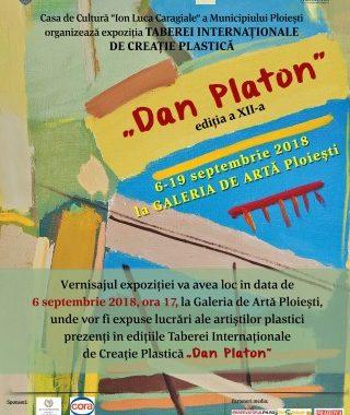 """Tabara Internationala de Creatie Plastica """"Dan Platon"""" la Ploiesti"""