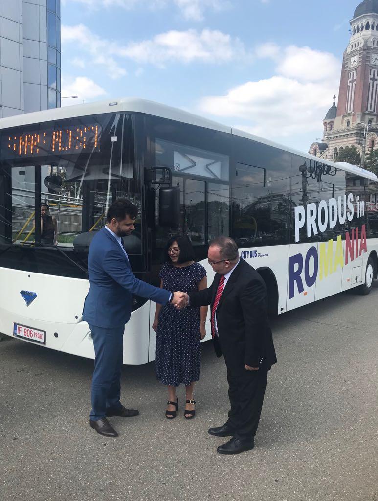 Primele 10 autobuze diesel Euro 6 ajung la Ploiesti in maxim 125 de zile