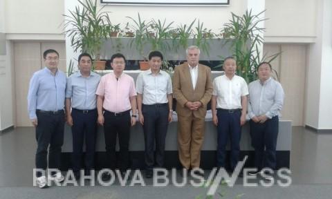 Delegatie de oameni de afaceri din Shanghai la CCI Prahova