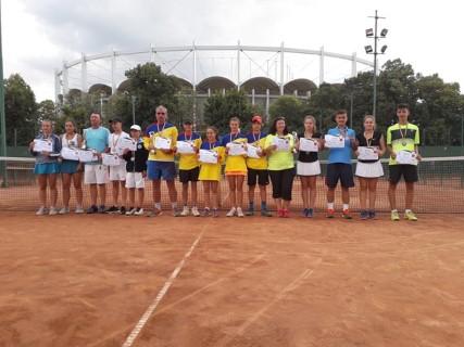 CSS Ploiesti, locul 3 la CN de tenis U14 pe echipe!