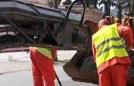 Lucrari de asfaltare pe strada Poligonului