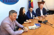 Presedintele Federatiei Romane de Gimnastică, Adreea Raducan, a venit la Ploiesti sa promoveze un proiect pentru copii