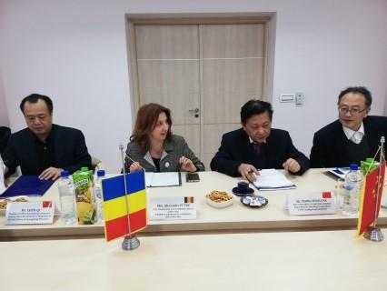 Delegatie chineza din Provincia Guangdong, vizita la CCI Prahova