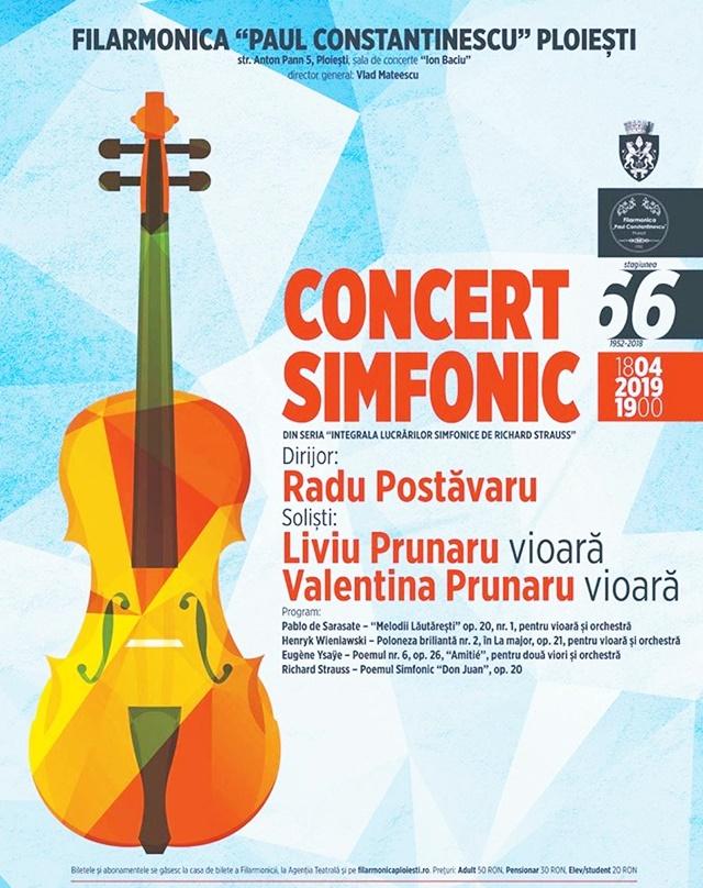 Viori si compozitii de galeria de aur a muzicii clasice pe scena Filarmonicii