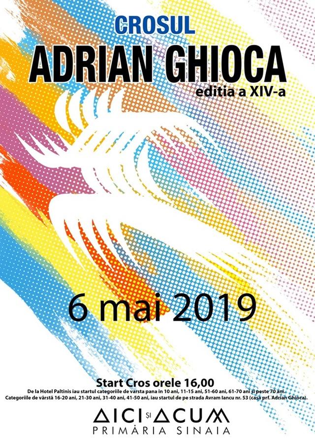 Hai la Crosul «Adrian Ghioca», la SINAIA! TRAFIC RESTRICTIONAT IN CENTRUL STATIUNII