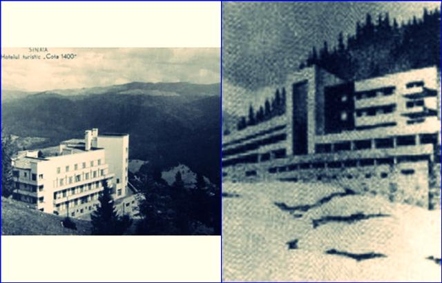 Din trecutul unui hotel… legendar. La Cota 1400