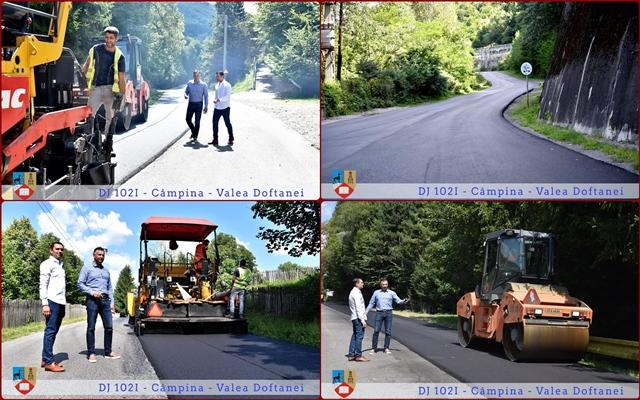 Drum primenit cu asfalt de calitate, in intampinarea oaspetilor la Festivalul Cascavelei