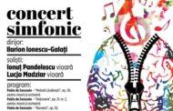 """Vioara, regina la Filarmonica! Un concert musai de ascultat! Unul dintre soliști, o emblema a Liceului de Arta """"Carmen Sylva"""""""