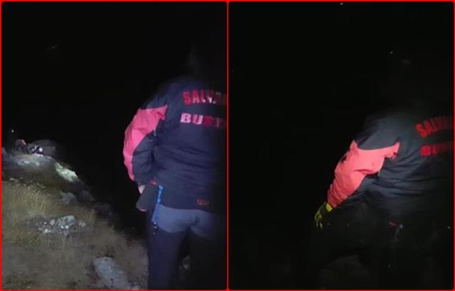Tineri prinsi ca-ntr-o capcana in valea Malinului. Noroc cu… salvamontistii din Busteni