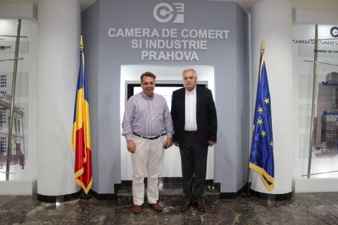 Ambasadorul Romaniei in R.P. Chineza, in vizita la CCI Prahova