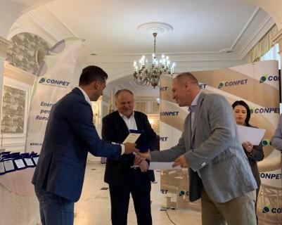 CONPET a premiat profesionalismul partenerilor sai de la Jandarmeria Romana