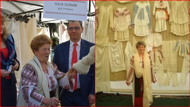 IULIA GORAN, un om  cu inima invesmantata-n ie