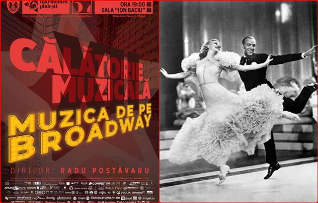 Muzica de pe Broadway vine sa bucure ploiestenii la inceput de an