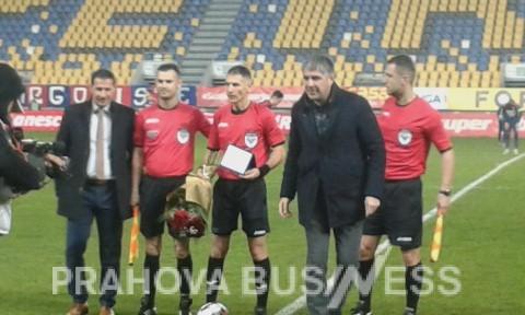 Meci de retragere la Ploiesti pentru arbitrul Adrian Comanescu