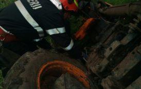 MOARTE CUMPLITA: Un batran a sfarsit strivit de un tractor la Filipestii de Padure