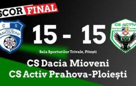 Activ Prahova Ploiesti, remiza pe terenul liderului!