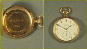 Ceasul de buzunar al Generalului Alexandru Averescu, la Muzeul Ceasului din Ploiesti