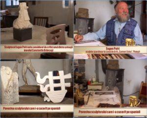 """Despre BRANCUSI cu Eugen Petri, castigator al Marele Premiu """"Constantin Brancusi"""", profesor la Colegiul de Arta """"Carmen Sylva"""" Ploiesti"""