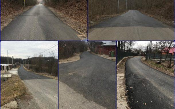 Parteneriatele CJ Prahova cu localitatile din judet dau roade! Exemplu- reparatiile la drumurile comunei Plopu