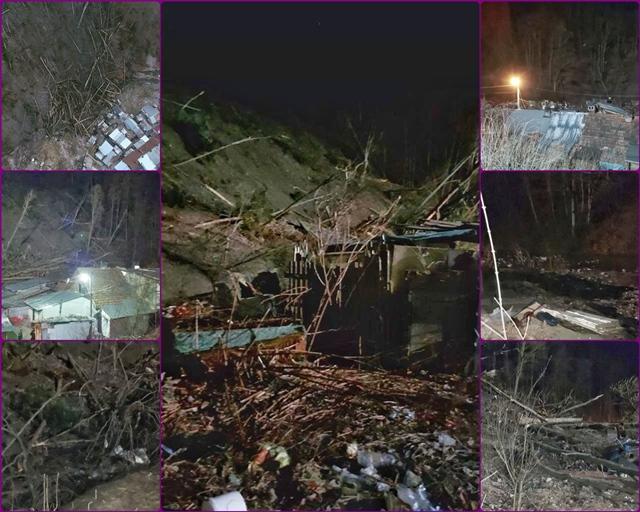 Ministerul Mediului: 125 de persoane evacuate la Azuga, urmare a alunecarii de teren
