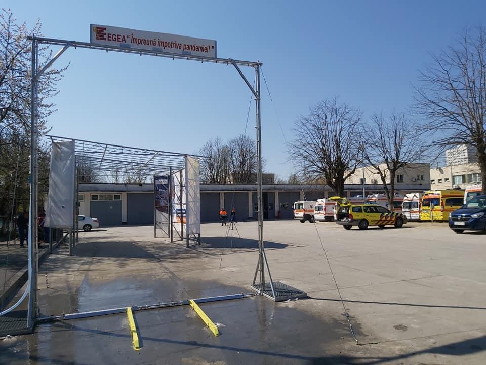 Egea Invest si CCI Prahova – donatie pentru Serviciul de Ambulanta Prahova